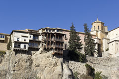 Hanging Houses, Cuenca, Spain Stock Photo
