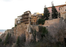 Hanging houses of Cuenca, Spain Royalty Free Stock Images