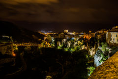 Hanging houses of Cuenca. Spain. Stock Photo