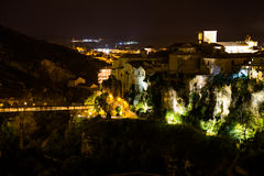 Hanging houses of Cuenca. Spain. Royalty Free Stock Image