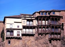 Hanging houses, Cuenca, Spain. Stock Photography