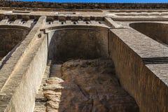 Hanging houses in Tarazona de Aragon, Saragossa, Spain Stock Photography