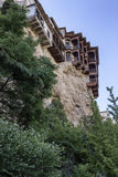 Hanging houses (Casas Colgadas) in Cuenca, Spain Royalty Free Stock Image