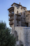 Hanging houses (Casas Colgadas) in Cuenca, Spain Royalty Free Stock Photography