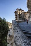 Hanging houses (Casas Colgadas) in Cuenca, Spain Stock Photos
