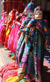 Hanging Indian Puppets Royalty Free Stock Photo