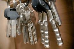 Hanging keys Royalty Free Stock Photos
