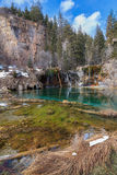 Hanging Lake Stock Images