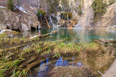Hanging Lake Royalty Free Stock Photos