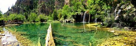 Free Hanging Lake, Glenwood Canyon, Colorado Stock Image - 37221281