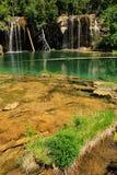 Hanging lake, Glenwood Canyon, Colorado Stock Images
