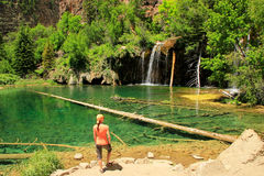 Hanging lake, Glenwood Canyon, Colorado Stock Photo