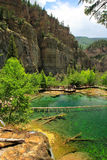 Hanging lake, Glenwood Canyon, Colorado Stock Images