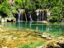 Hanging lake, Glenwood Canyon, Colorado Royalty Free Stock Image