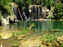 Hanging lake, Glenwood Canyon, Colorado Stock Photography