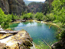 Hanging lake, Glenwood Canyon, Colorado Stock Photos