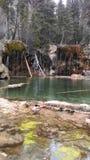 Hanging Lake. Glenwood springs Royalty Free Stock Image