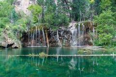 Hanging Lake. Near Glenwood Springs in Colorado Stock Images