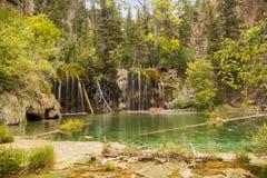 Hanging Lake. Near Glenwood Springs in Colorado Royalty Free Stock Photography