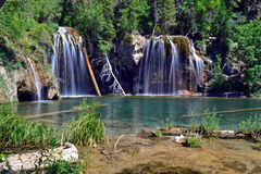 Hanging Lake. In the Rocky Mountains of Colorado stock photos