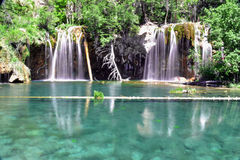 Hanging Lake. In the Rocky Mountains of Colorado royalty free stock photos