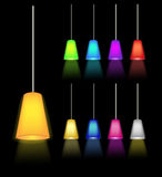 Hanging lamp Royalty Free Stock Photography