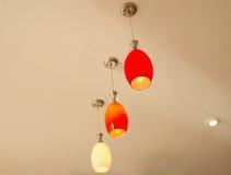 Hanging lamp. Stock Photos