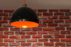 Hanging lamp Stock Photography