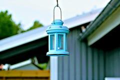 Hanging lantern. Lamp. RnCandle light Stock Photo