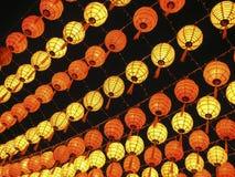 Hanging lanterns Stock Photo