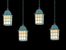 Hanging lanterns Royalty Free Stock Photography
