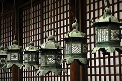 Hanging lanterns Stock Photo