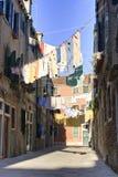 Hanging laundry Royalty Free Stock Photo