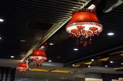 Hanging light Stock Image