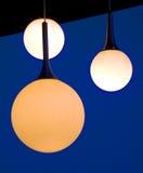 Hanging lights Stock Photo