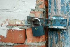 Hanging lock by CU Stock Photography