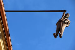 Hanging man Royalty Free Stock Photos