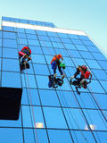Window Cleaners Paris Royalty Free Stock Photography