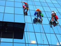 Window Cleaners Stock Image