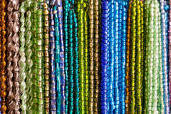 Hanging necklaces Royalty Free Stock Image