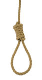 Hanging noose Royalty Free Stock Photo