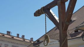 Hanging noose with Blue Sky
