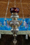 Hanging oil lamp Stock Photo