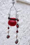 Hanging ornament in Gaios village, Paxoi island, Greece Stock Photo