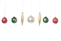Hanging ornaments. Stock Photos