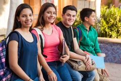 Free Hanging Out At School Stock Photos - 41816133