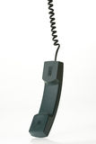Hanging phone receiver Royalty Free Stock Photos