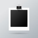 Hanging photo frame Royalty Free Stock Photo