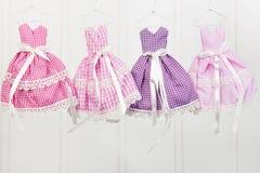 Hanging pink fashion Royalty Free Stock Photography
