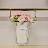 Hanging pots for flowers Royalty Free Stock Photo